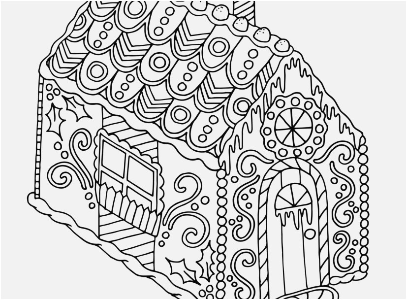 827x609 Gingerbread Coloring Pages Graphic Gingerbread House Christmas
