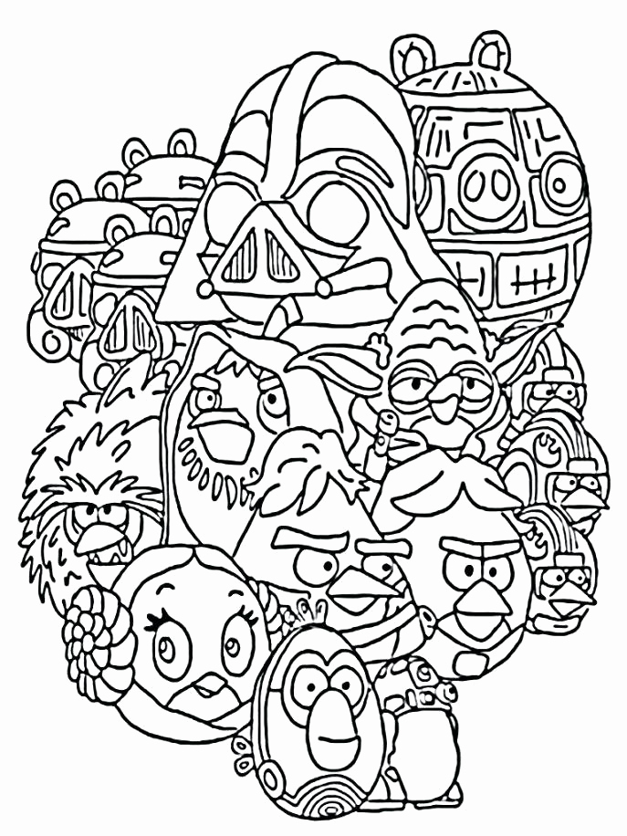 687x916 Star Wars Coloring Pages For Kids Star Wars Coloring Sheets Iguana