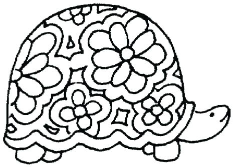 465x334 Adult Coloring Pages Turtle Coloring Pages Turtle Turtle