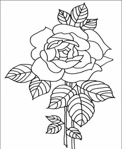 400x491 Flower Page Printable Coloring Sheets Winter Coloring Pages