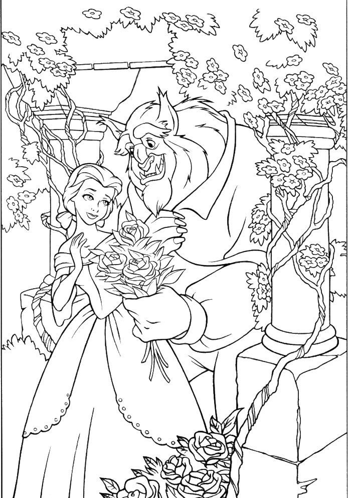 Adult Disney Coloring Pages at GetDrawings | Free download