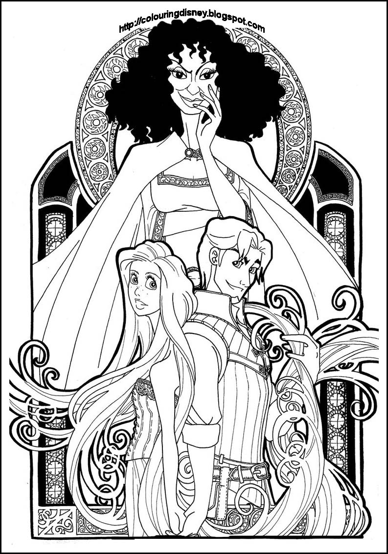 Adult Disney Coloring Pages At Getdrawings Com Free For