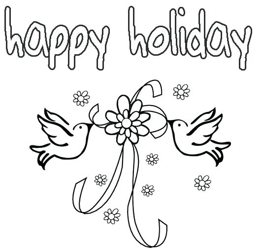 534x507 Did Adult Holiday Coloring Pages Printable Holiday Happy Holiday