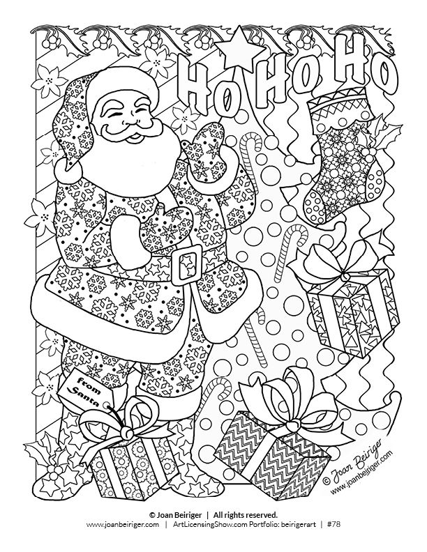 612x792 Free Page Holiday Coloring Book Coloring Books, Holidays
