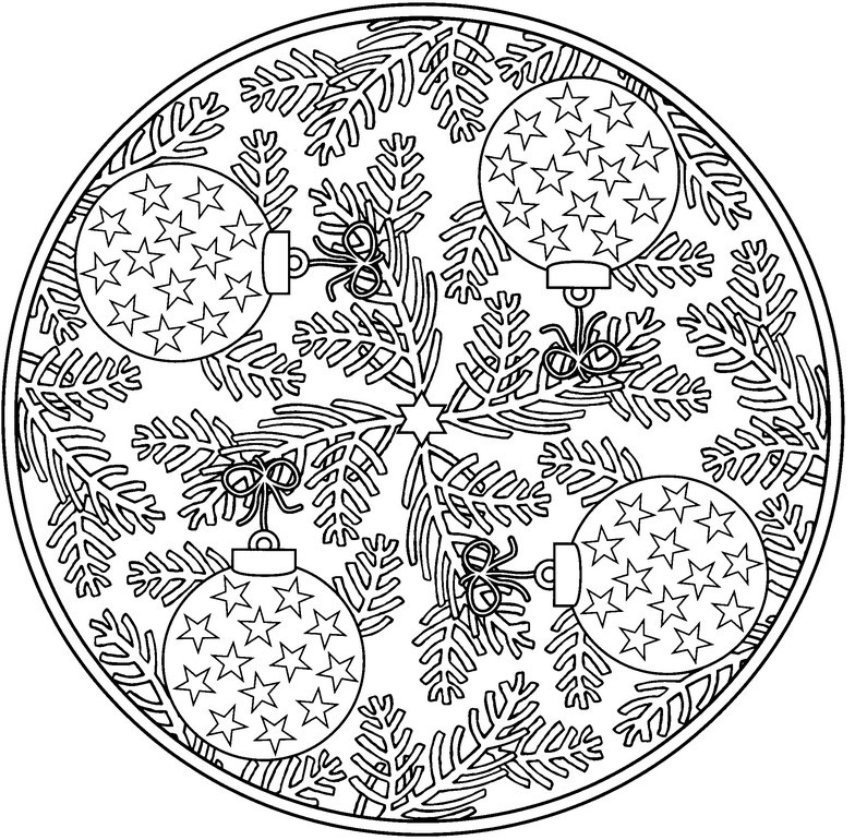 795x770 Holiday Coloring Pages For Adults All About Coloring Pages