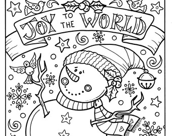 340x270 Sea Horse Christmas Coloring Page Adult Holidays Beach Decor