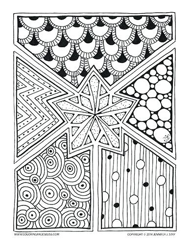 386x500 Holiday Coloring Pages For Adults