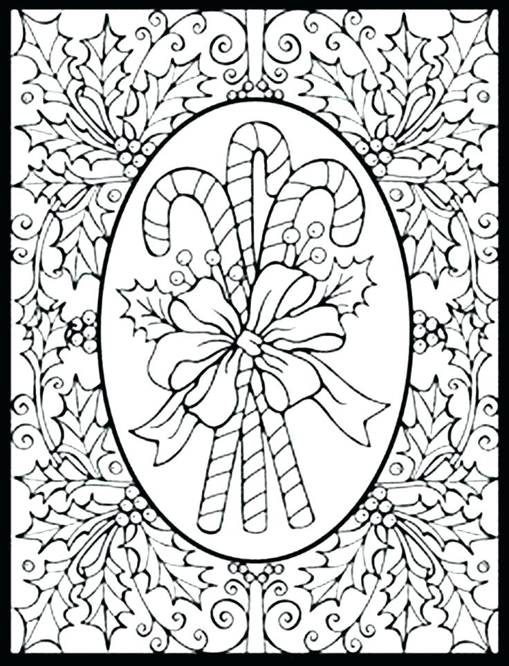 736x963 Christmas Coloring Pages For Adults Adult Coloring Pages Holiday