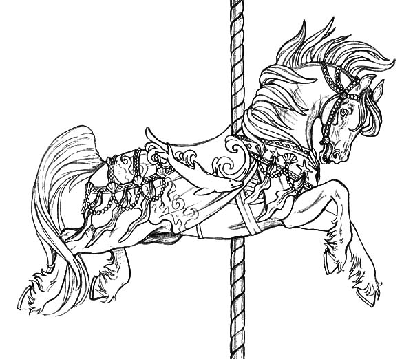 Adult Horse Coloring Pages at GetDrawings.com | Free for personal ...