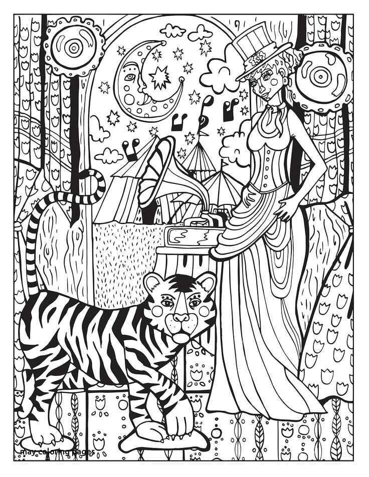 736x952 Happy Spring Coloring Pages Best Adult Coloring Pages Animals