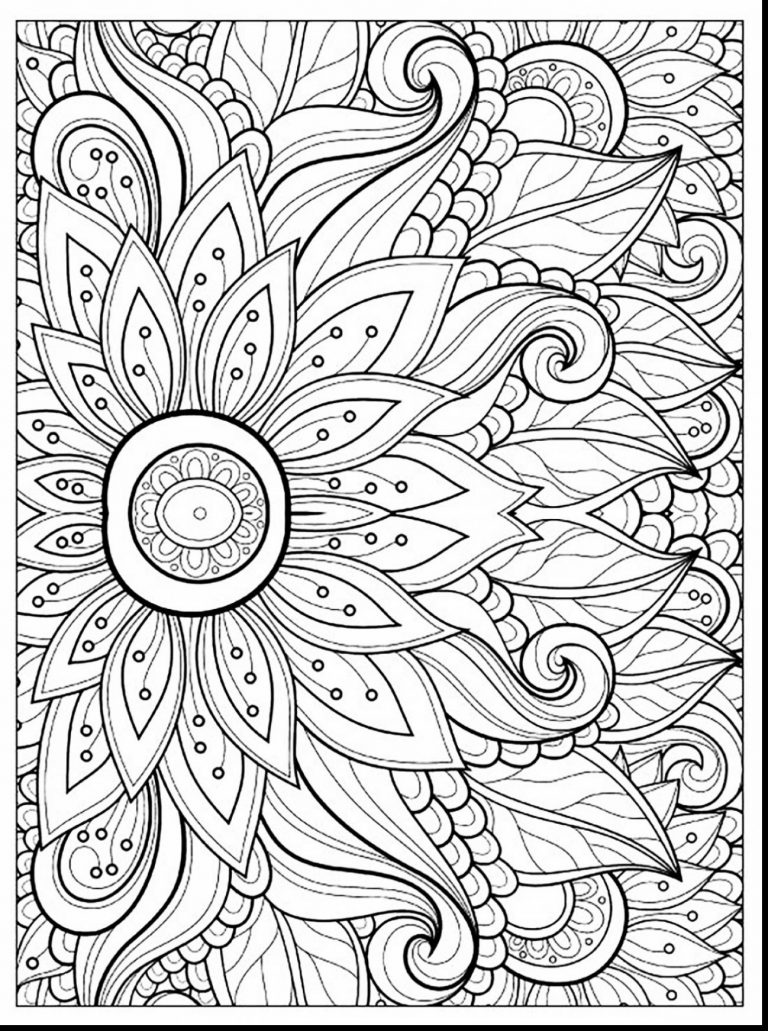 768x1031 Spring Coloring Pages Difficult Copy Best Of Astonishing Adult