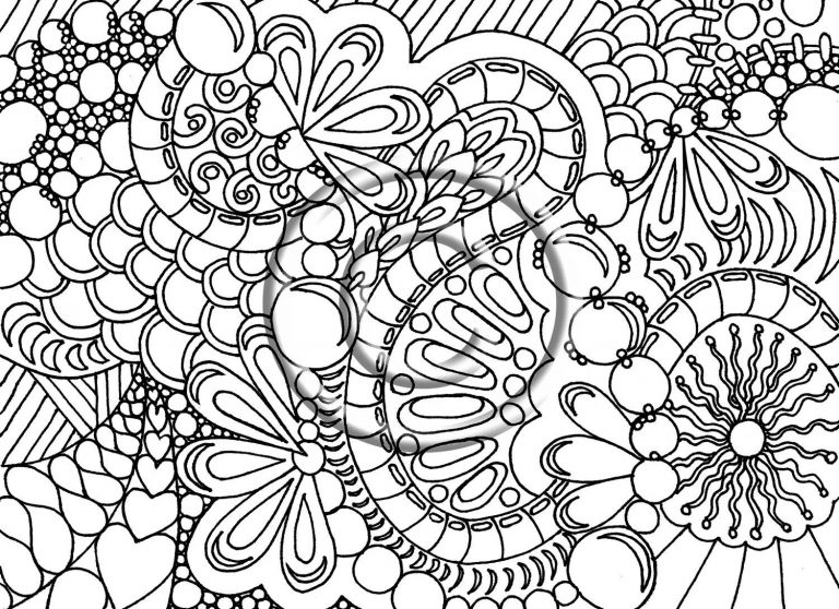 768x558 Spring Coloring Pages Difficult Copy Fresh Free For Adults Pretty