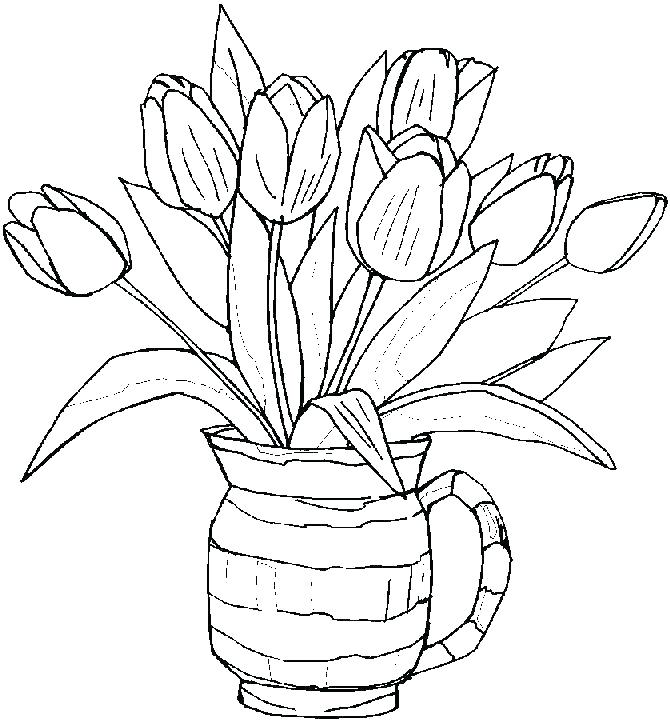Adult Spring Coloring Pages At Getdrawingscom Free For Personal