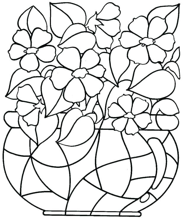 618x739 Spring Coloring Pages For Adults Packed With Adult Colouring Pages
