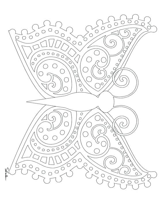 570x713 Coloring Pages For Spring Adult Colouring Pages Springtime