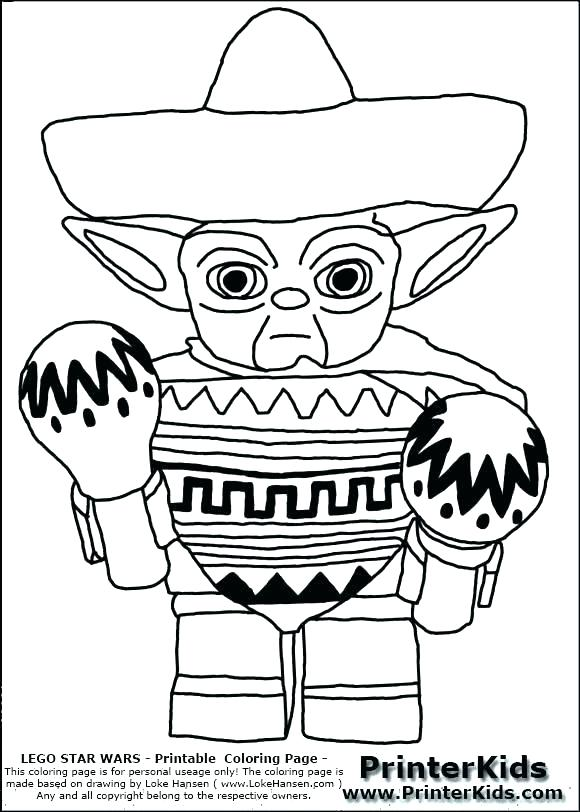 580x812 Angry Birds Star Wars Coloring Pages Yoda Walker Free Page O