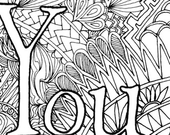 Adult Swear Coloring Pages At Getdrawings Com Free For Personal