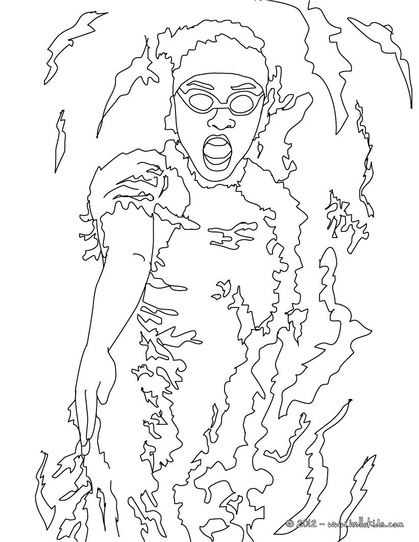 Adult Swim Coloring Pages