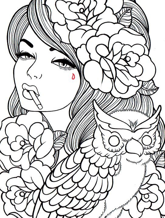 543x719 Coloring Pages For Kids And Adults For The Home