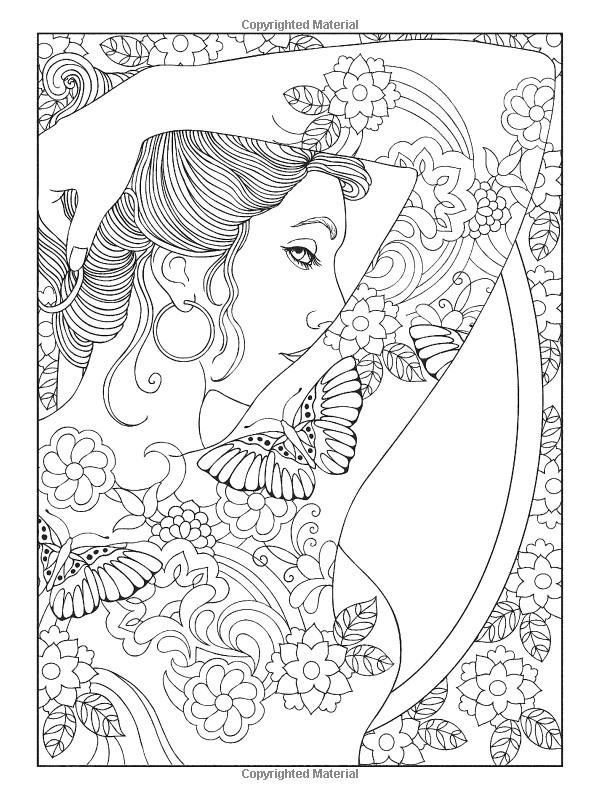 600x800 Colouring Page Colouring Pages Tattoo, Adult