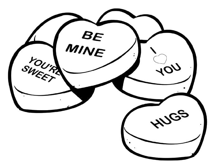 704x540 Free Printable Valentines Day Coloring Pages For Adults Quotes