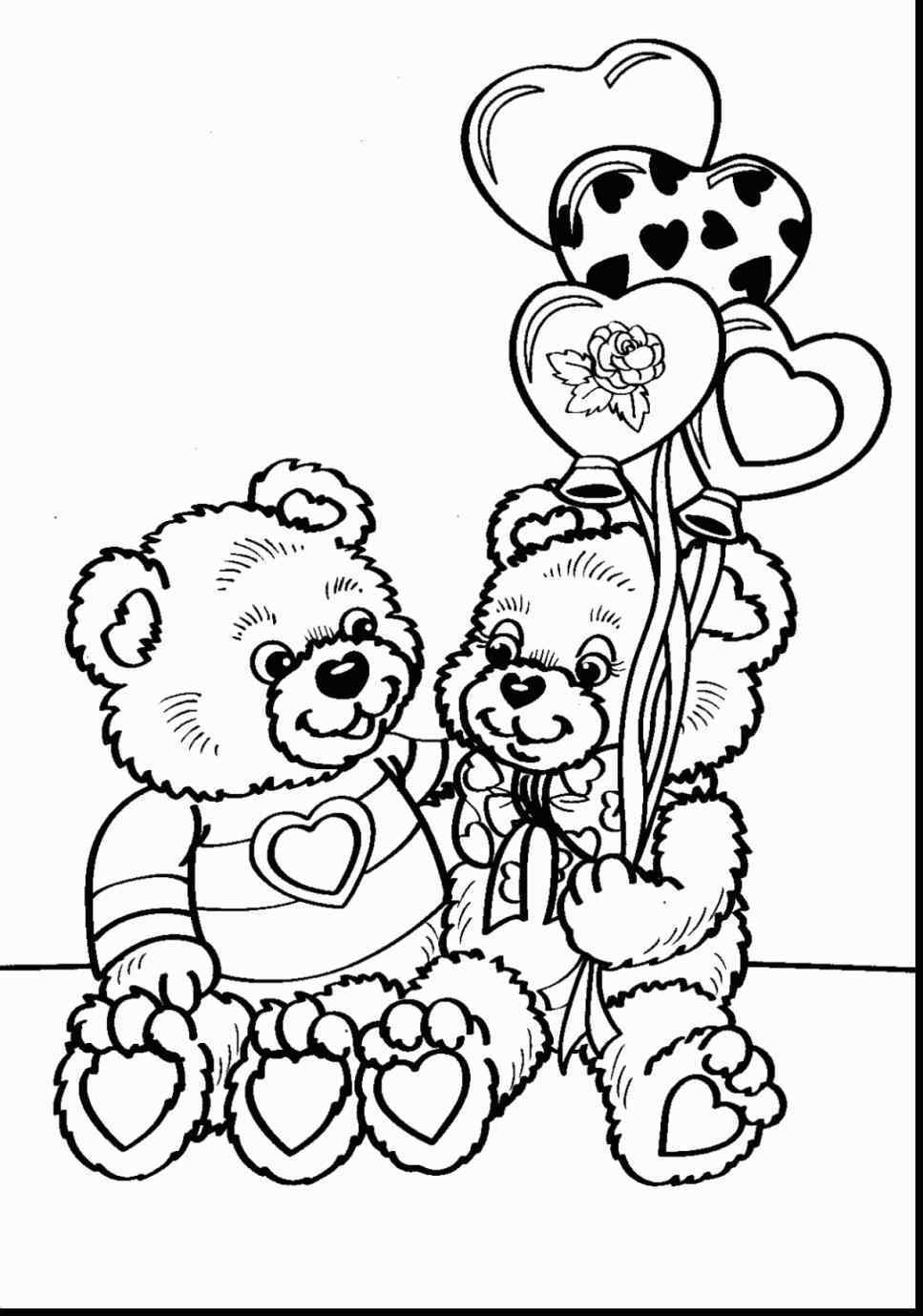 967x1379 Happy Printable Valentines Day Coloring Pages For Adults
