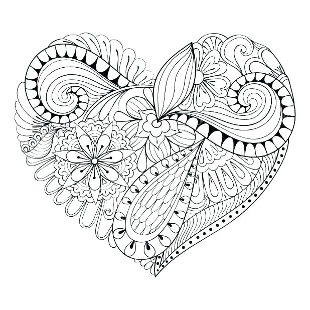 618x618 Love Coloring Pages For Adults Valentines Day Coloring Pages Love