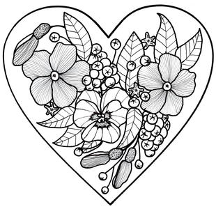 310x300 Adult Coloring Book Pages