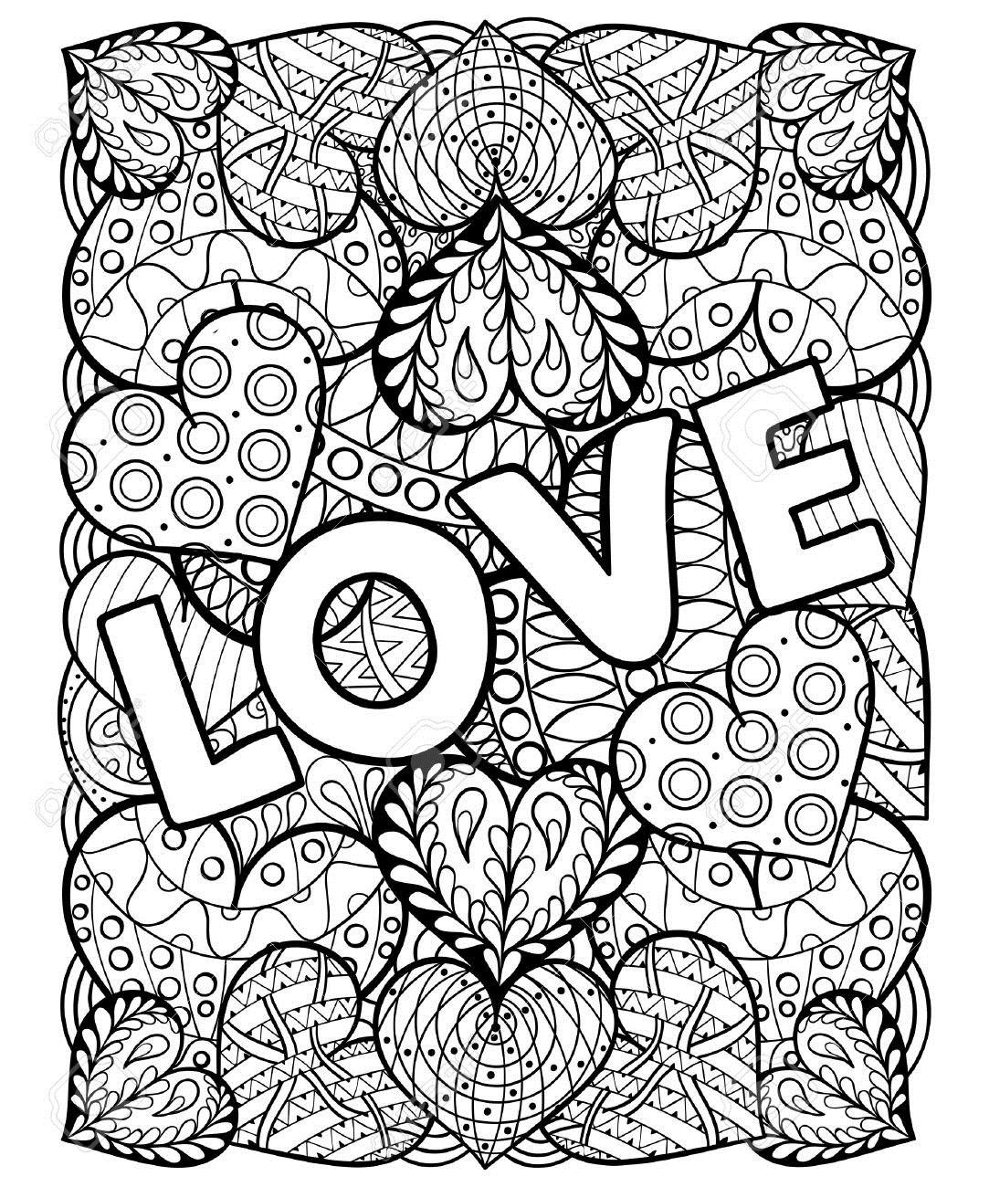 1083x1300 Adult Coloring Pages Valentines Day Quotes Wishes For Fancy