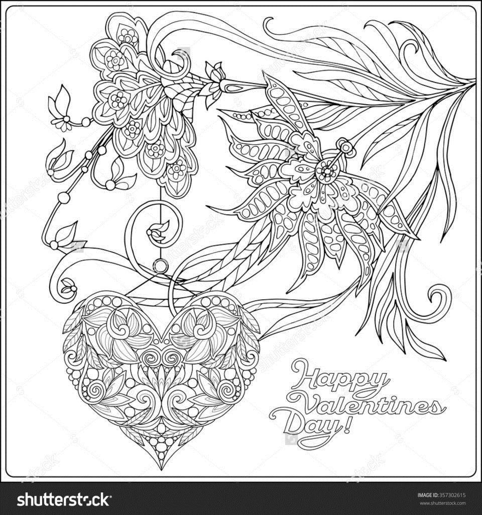 960x1024 Adult Coloring Pages Valentines Day Quotes Wishes