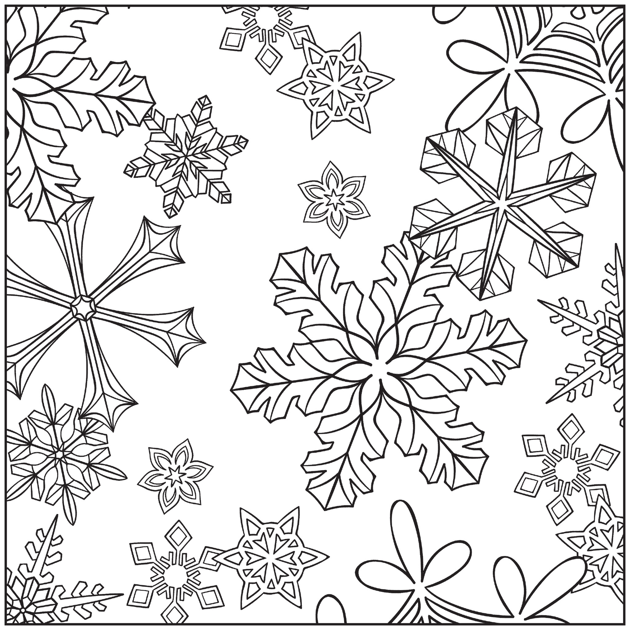2048x2048 Winter Coloring Pages Adults Winter Wonderland Coloring Pages Jacb