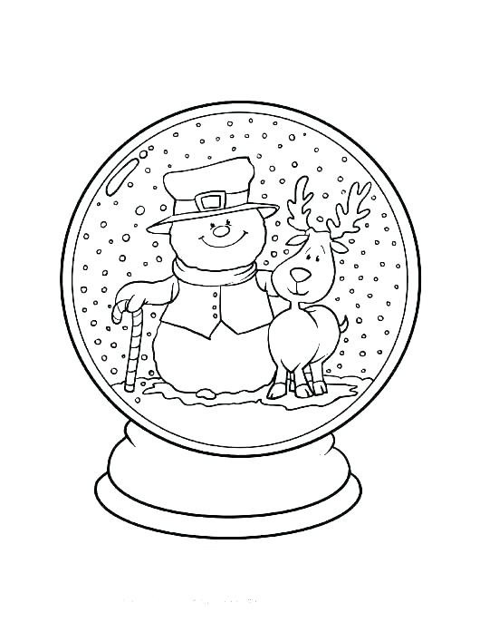 530x686 Winter Free Coloring Pages Free Winter Coloring Pages For Adults