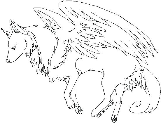 552x421 Wolf Coloring Pages For Adults Wolf Coloring Pages Printable Anime