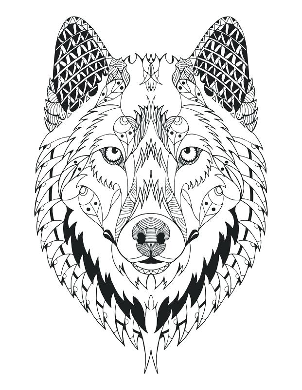 621x800 Wolves Coloring Pages Free Wolves Coloring Pages For Adults Wolves