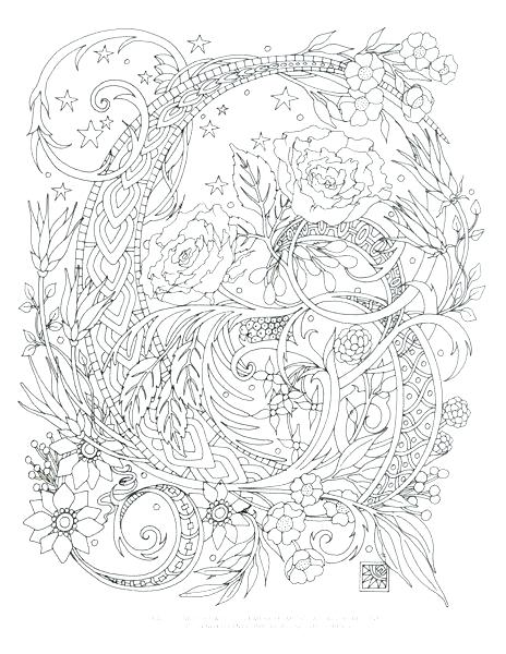 464x600 Advanced Christmas Coloring Pages Advanced Coloring Pages To Print