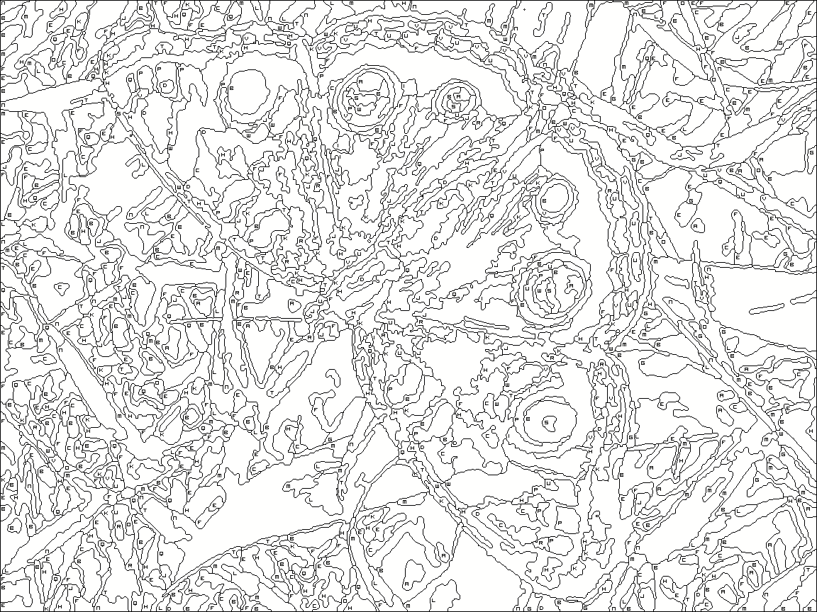 Advanced Color By Number Coloring Pages At Getdrawings Com Free