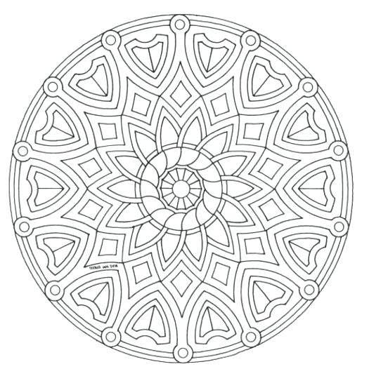 525x536 Advanced Coloring Sheets