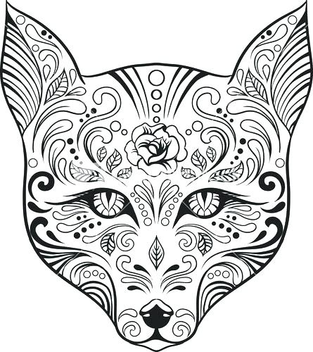 445x500 Advanced Printable Christmas Coloring Pages Kids Coloring Free