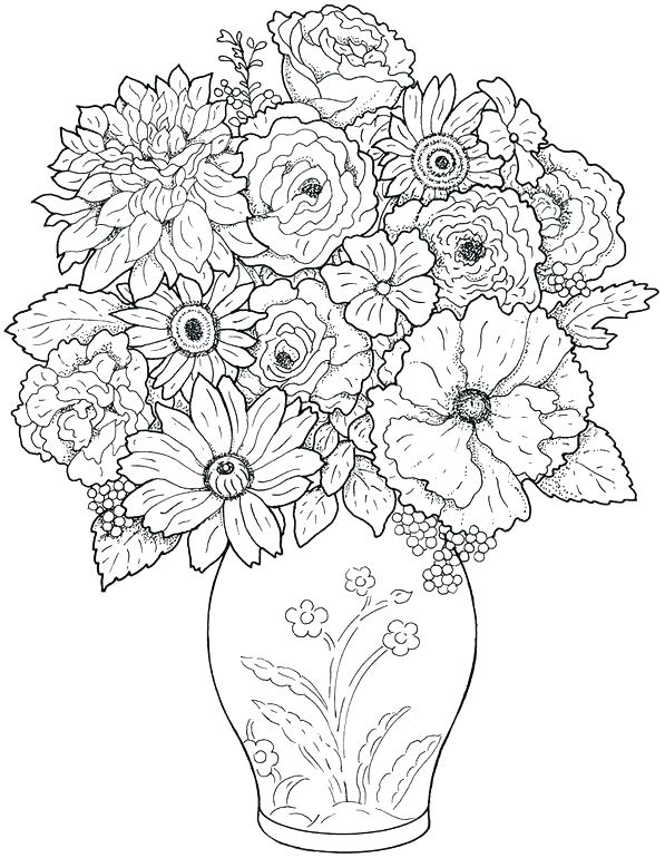 597x770 Coloring Pages To Print For Adults Advanced Coloring Pages