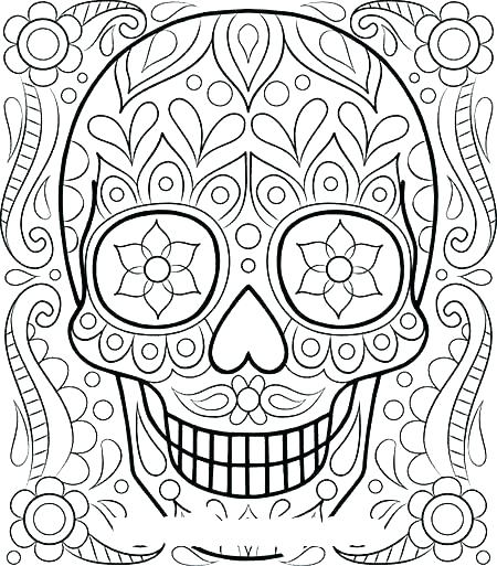 450x513 Intricate Coloring Pages For Kids