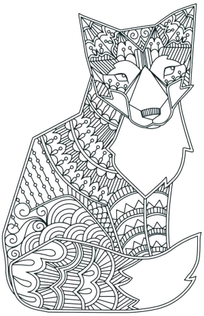 663x1024 Animal Mandala Coloring Pages Coloring Pages Animal Mandala