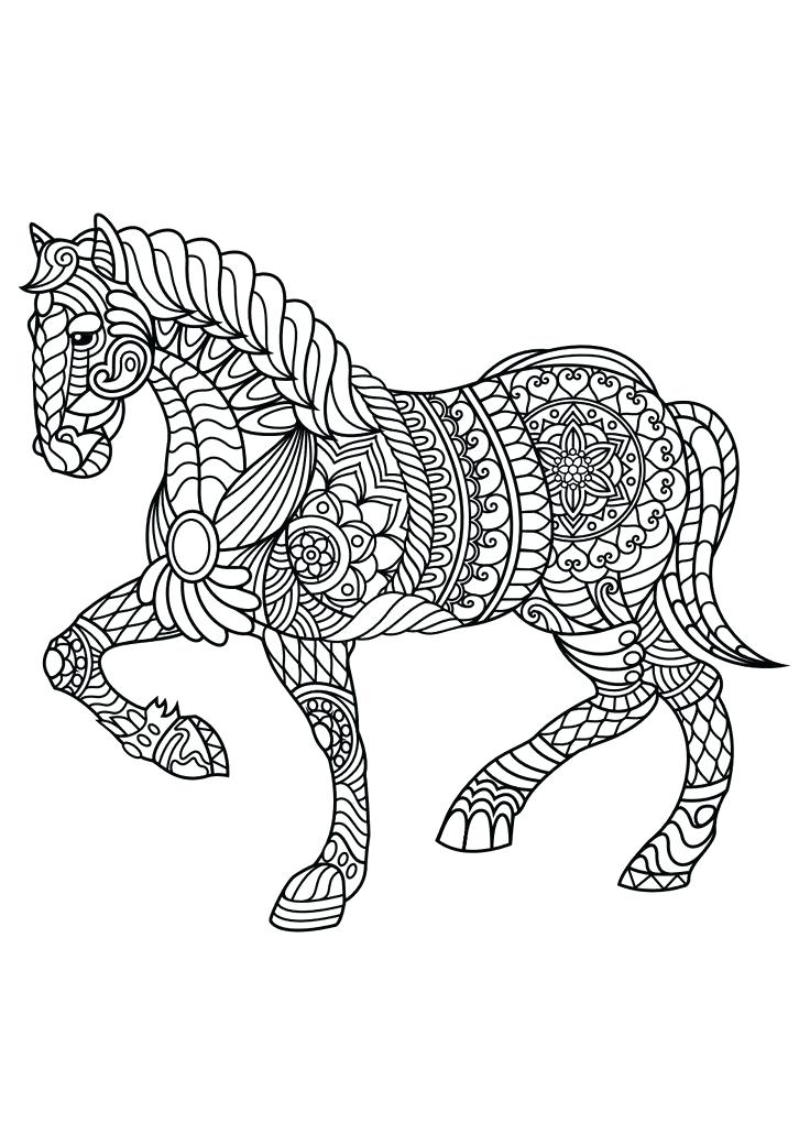 736x1040 Idea Wolf Coloring Pages For Adults For Animals Advanced Coloring