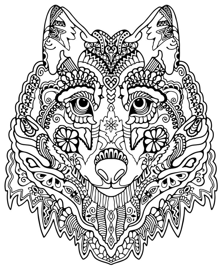 736x896 Inspirational Advanced Animal Coloring Pages