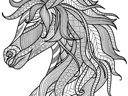 440x330 Adult Coloring Pages Animals, Animals Coloring Pages For Adults
