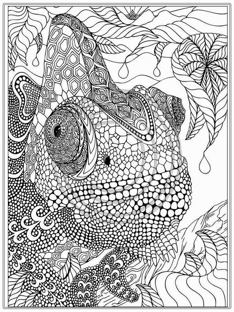 768x1024 Advanced Coloring Pages