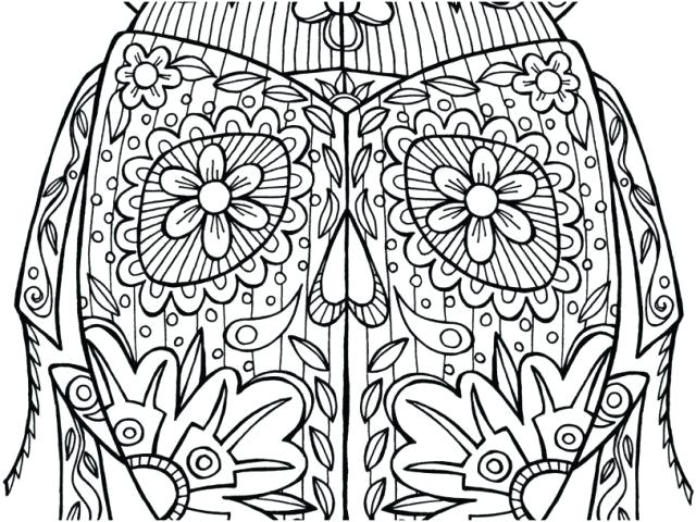 640x480 Advanced Coloring Pages Animals Free Coloring Pages For Adults