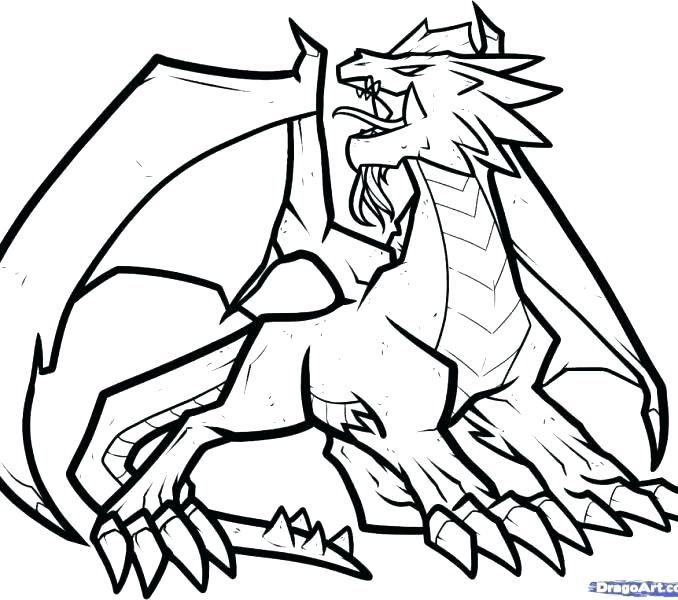678x600 Dragon Printable Coloring Pages Dragon Printable Coloring Pages