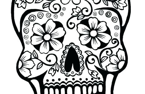 469x304 Free Detailed Coloring Pages Coloring Pages Detailed Skull