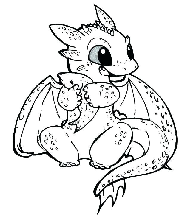 600x722 Free Dragon Coloring Pages Hard Dragon Coloring Pages Free Dragon