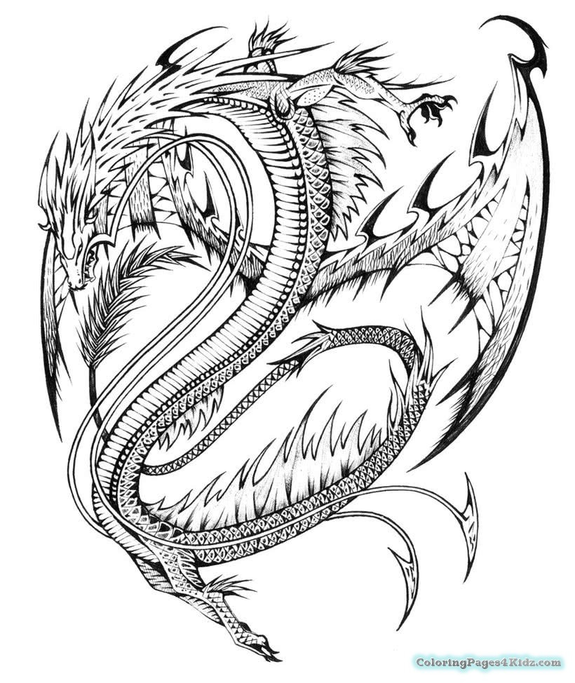820x974 Free Printable Coloring Pages For Adults Advanced Dragons Google